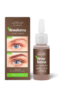 BrowHenna хна для бровей флакон #101 Нейтрально-коричневый (BrowXenna®)