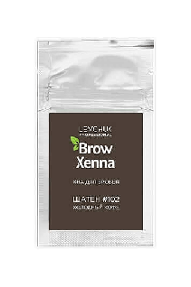 Хна для бровей в саше #102 холодный кофе BrowXenna®