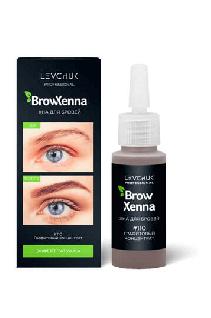 BrowHenna хна для бровей флакон #110 Графитовый концентрат (BrowXenna®)