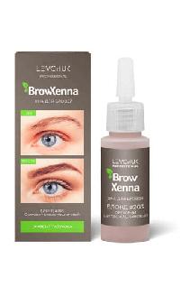 BrowHenna хна для бровей флакон #203 Ореховый светло-каштановый (BrowXenna®)