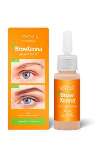 BrowHenna хна для бровей флакон #210 Янтарный концентрат (BrowXenna®)