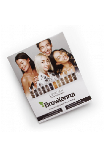 Палитра цветов BrowXenna