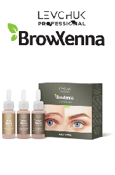 Brow Henna хна для бровей набор блонд (BrowXenna)