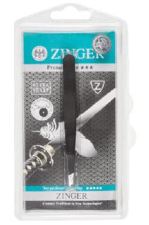 Пинцет Zinger® для бровей скошенный